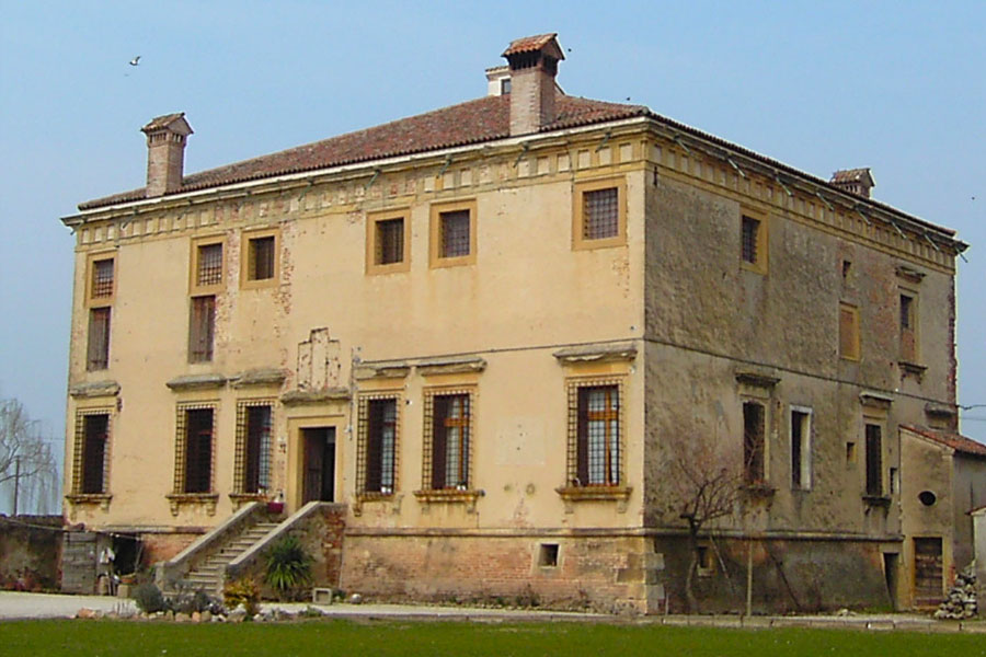 Villa Saraceno called Palace of the Trumpets in Finale